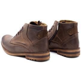 KOMODO Brown men's winter boots 731K 7