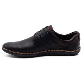 Polbut Men's casual shoes 402E black 3