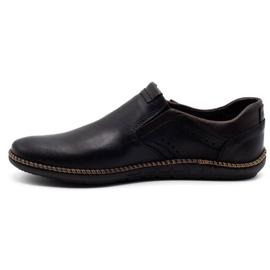 Polbut Black men's shoes 401E 2