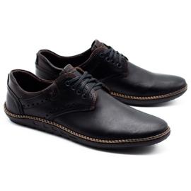 Polbut Men's casual shoes 402E black 4