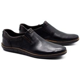 Polbut Black men's shoes 401E 3