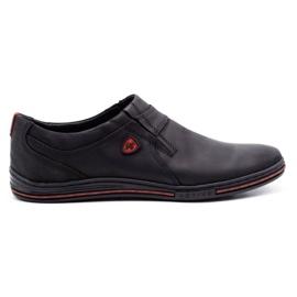 Polbut Men's Brogues Leather 362 Black 1