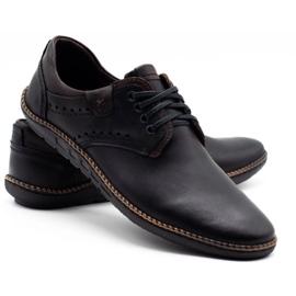 Polbut Men's casual shoes 402E black 6