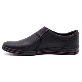 Polbut Men's Brogues Leather 362 Black 2