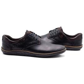 Polbut Men's casual shoes 402E black 7