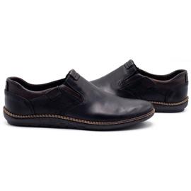 Polbut Black men's shoes 401E 6