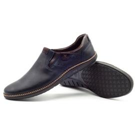 Polbut Men's shoes 401E navy blue 3