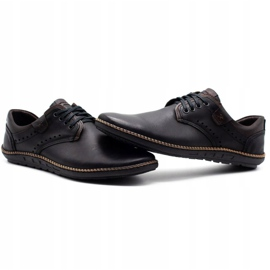 Polbut Men's casual shoes 402E black 8