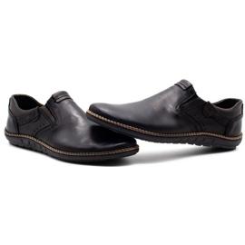 Polbut Black men's shoes 401E 7