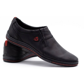 Polbut Men's Brogues Leather 362 Black 4