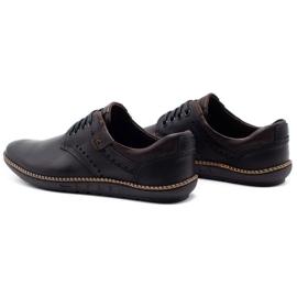 Polbut Men's casual shoes 402E black 9