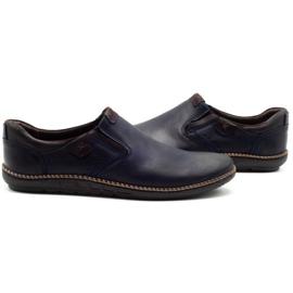 Polbut Men's shoes 401E navy blue 5