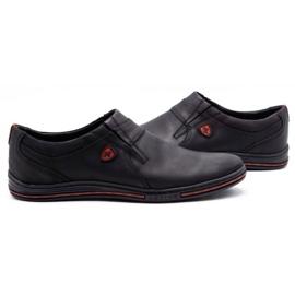 Polbut Men's Brogues Leather 362 Black 5
