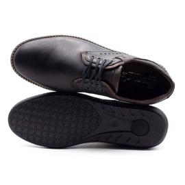 Polbut Men's casual shoes 402E black 10