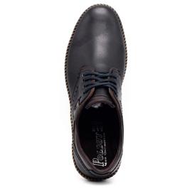 Polbut Men's casual shoes 402E black 2