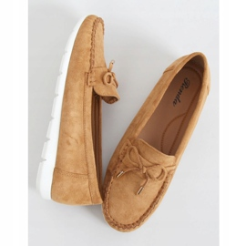 Camel RQ-2 Camel women's loafers brown 1