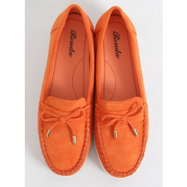 Orange women's loafers RQ-2 Orange 1
