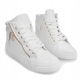 High-top Sneakers ZJY-C130 White 2
