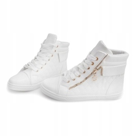 High-top Sneakers ZJY-C130 White 3