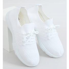 White sports socks C9239 Bianco 3