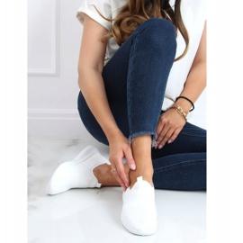 White sports socks C9273 Blanco 1