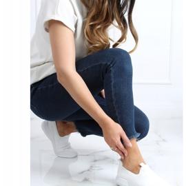 White sports socks C9273 Blanco 2