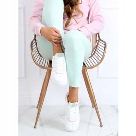 White women's sports shoes BL218P Pink 2