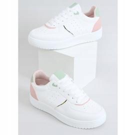 White women's sports shoes BL218P Pink 1