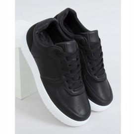 Black BL218P Black women's sports shoes 3