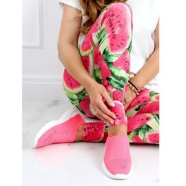 Pink 9862 Fushia socks sports shoes 1