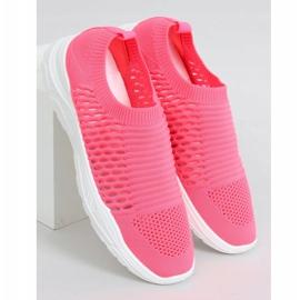Pink 9862 Fushia socks sports shoes 3