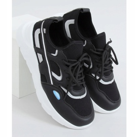 Black sports shoes B0-560 Black 1