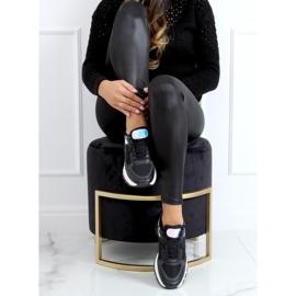 Black sports shoes for women B0-553 Black 3