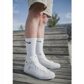 Men's High-top Sneakers Big Star White Y174024 2