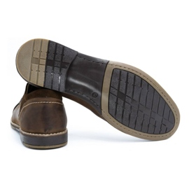Olivier Men's leather shoes 253 brown 4