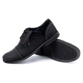 Olivier Men's leather shoes 253 black 3