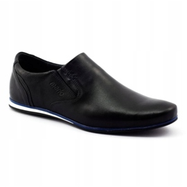 Mario Pala Men's shoes 624 black 2
