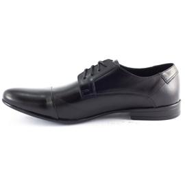 JR Men's formal shoes 197 black 5