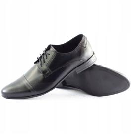 JR Men's formal shoes 197 black 2