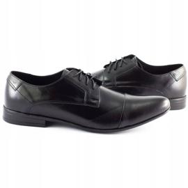 JR Men's formal shoes 197 black 4