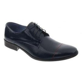 Men's formal shoes 199 navy blue 1