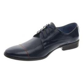 Men's formal shoes 199 navy blue 2