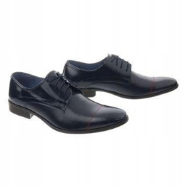 Men's formal shoes 199 navy blue 3