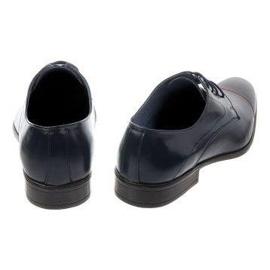 Men's formal shoes 199 navy blue 4