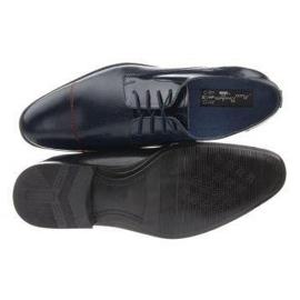 Men's formal shoes 199 navy blue 5