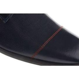 Men's formal shoes 199 navy blue 7