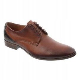 Men's formal shoes 282 brown 1