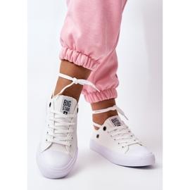 Women's Classic Low Sneakers Big Star AA274010 White 3