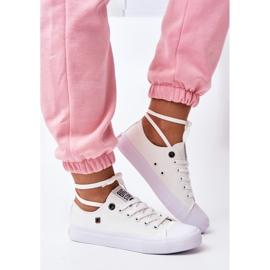 Women's Classic Low Sneakers Big Star AA274010 White 4