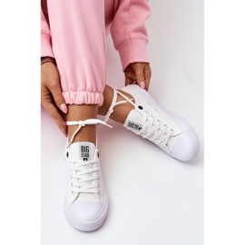 Women's Classic Low Sneakers Big Star AA274010 White 5